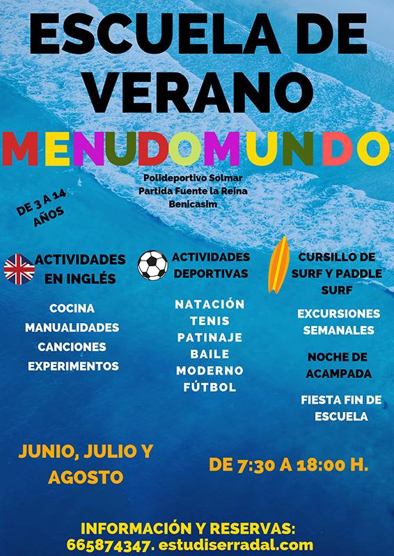 Escuela de verano Menudomundo 2019